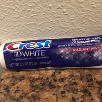Crest 3D White Radiant Whitening Toothpaste uploaded by Danielle P.