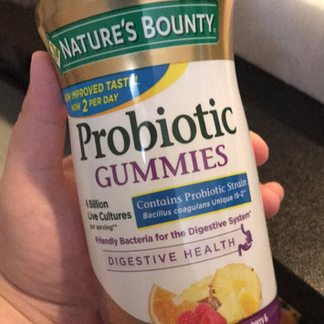 Nature's Bounty® Probiotc Fruit Gummies uploaded by Kelly M.