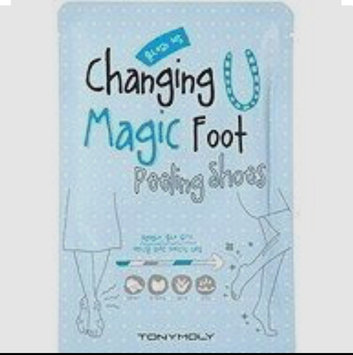 Photo of [Tonymoly] Changing U Magic Foot Peeling Shoes 1pair uploaded by Charley S.