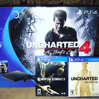 PS4 Slim 500GB Uncharted 4 Bundle uploaded by Alana E.