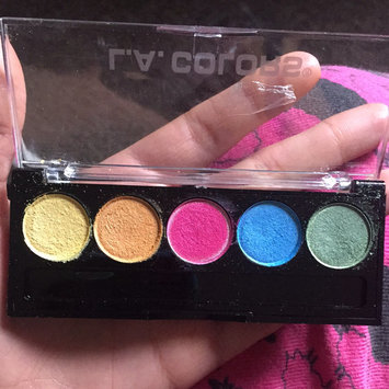 L.A. Colors 5 Color Metallic Eyeshadow, Tease, .26 oz uploaded by Stephanie M.