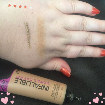 L'Oreal Infallible Total Cover Foundation uploaded by Shelby B.