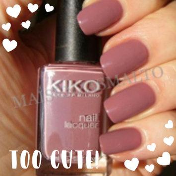 Photo of Kiko Milano Nail Lacquer uploaded by Dina E.