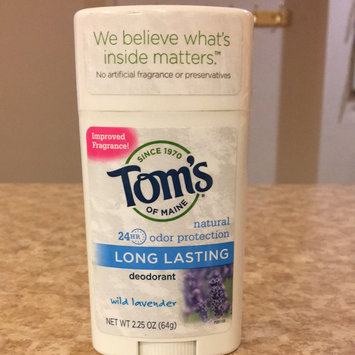 Photo of Tom's OF MAINE ANTIPERSPIRANT & DEODORANT Unscented Long Lasting Deodorant uploaded by Kayla A.