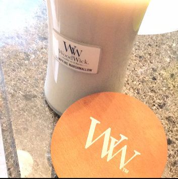 Photo of WoodWick Campfire Marshmallow Large Jar Candle uploaded by Roxanne S.