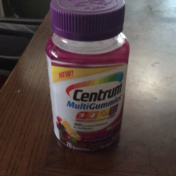 Centrum MultiGummies Women, Cherry, Berry, Orange uploaded by heather s.