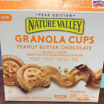 Photo of Nature Valley™ Granola Cups Peanut Butter Chocolate uploaded by Amber P.