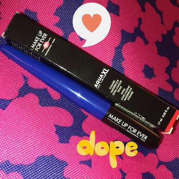 Photo of MAKE UP FOR EVER Aqua XL Ink EyeLiner uploaded by Influenster M.