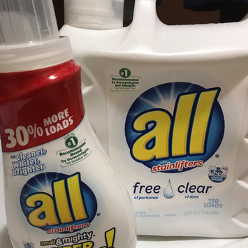 Photo of All 3X Small & Mighty Free Clear Liquid Laundry Detergent uploaded by Mandy B.