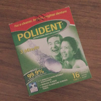 Polident 3-Minute Antibacterial Denture Cleanser uploaded by Bheiya E.