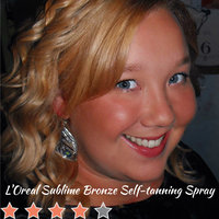 L'Oréal Paris Sublime Bronze Any Angle Self-Tanning Spray uploaded by Mindy R.