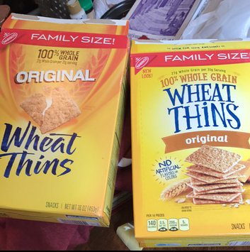 Photo of Nabisco Wheat Thins Original Crackers uploaded by Anna W.