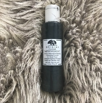 Origins Clear Improvement Active Charcoal Exfoliating Cleansing Powder to Clear Pores uploaded by Maggie P.