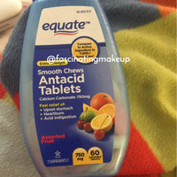Equate Smooth Chews Extra Strength Assorted Fruit Antacid Tablets, 60 count uploaded by swetha K.