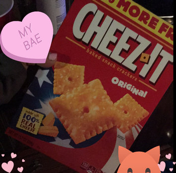 Cheez-It® Original Baked Snack Crackers uploaded by Dayla C.