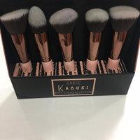 Luxie Rose Gold Synthetic 5 Piece Kabuki Brush Set uploaded by Julianna Castellani F.