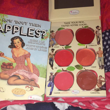 Photo of Thebalm the Balm How Bout Them Apples Cheek & Lip Cream Palette uploaded by Hannah F.