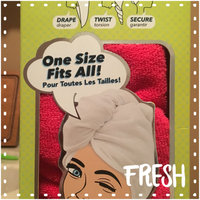Microfiber Twist Hair Turban and Bouffant Shower Cap set by Spa Savvy Hair Color Is Orange (2pack) uploaded by Tonya G.