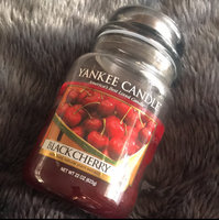 Yankee Candle 22-Ounce Jar Scented Candle, Large, Black Cherry [Large Jar Candle 22-oz] uploaded by lauren G.