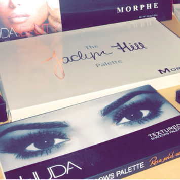 Photo of Huda Beauty Textured Eyeshadows Palette Rose Gold Edition uploaded by Erin R.