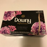 Downy Infusions Fabric Softener Sheets Lavender Serenity - 70 CT uploaded by Dreama W.