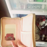 Mary Kay All Things Glamorous Faux Leather Gold Zippered Cosmetic Wallet Holder with Mirror ~ Will Hold Lipstick Lip Gloss Liner Cell Phone Brush and More! uploaded by Carissa L.