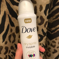 Dove® Invisible Antiperspirant Dry Spray Clear Finish uploaded by Ashley W.