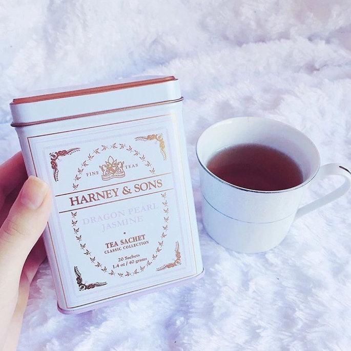 Photo of Harney & Sons Classic Dragon Pearl Jasmine Tea, 20 ct uploaded by Stefania B.