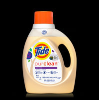 Tide purclean liquid laundry detergent for Regular and HE washers, Unscented uploaded by Elena K.