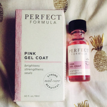 Photo of Perfect Formula Pink Gel Coat 0.6 oz uploaded by Chelsea P.