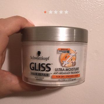 Schwarzkopf Gliss™ Hair Repair™ with Liquid Keratin Ultra Moisture Anti-Breakage Treatment 6.1 oz. Jar uploaded by Julia S.