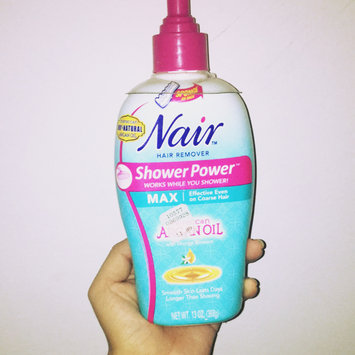 Nair Shower Power Max with Moroccan Argan Oil uploaded by Cindy K.