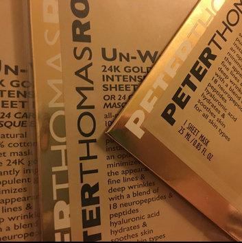 Photo of Peter Thomas Roth Un-Wrinkle(TM) 24k Gold Intense Wrinkle Sheet Mask uploaded by Jennifer R.