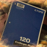 TOPS 65053 Notebook 3-Subject Wire Bound 10.5 x 8 In. 120 Sheets Per Book Pack Of 1 uploaded by Luisa F.
