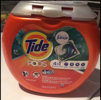 Photo of Tide PODS® Plus Febreze™ Laundry Detergent uploaded by Joanna R.