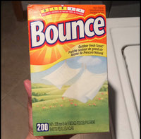 Bounce Outdoor Fresh Fabric Softener Sheets 200 ct Box uploaded by Joanna R.