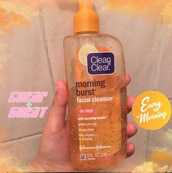 Clean & Clear Morning Burst Oil-Free Facial Cleanser uploaded by Danya A.