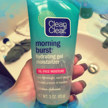 Photo of Clean & Clear® Morning Burst® Hydrating Gel Moisturizer uploaded by Marriah A.