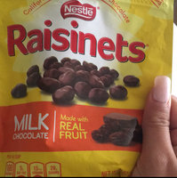Nestlé RAISINETS Milk Chocolate Real Fruit uploaded by Karina P.