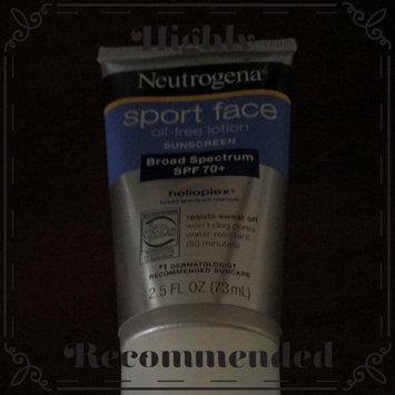 Photo of Neutrogena Ultimate Sport Face Sunblock Lotion uploaded by Cristina L.