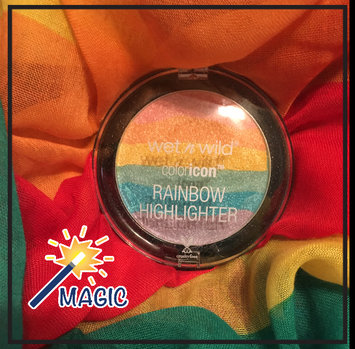 Wet n Wild Color Icon Rainbow Highlighter uploaded by Juleah B.