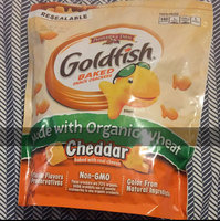 Goldfish® Baked Organic Wheat Cheddar Snack Crackers uploaded by Julienne L.