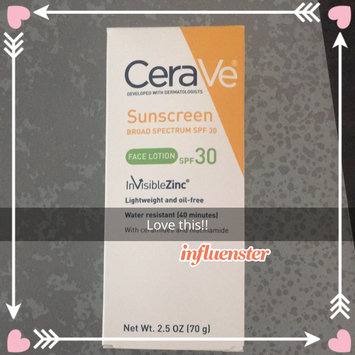 CeraVe Suncare Sunscreen Face Lotion SPF 30 uploaded by Karolin G.