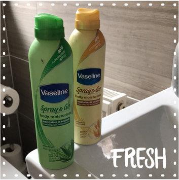Photo of Vaseline® Intensive Care™ Aloe Soothe Spray Moisturizer uploaded by Jackie C.
