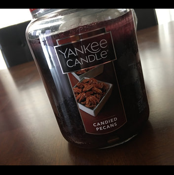 Photo of Yankee Candle 22oz. Candied Pecans Jar Candle 22 Ounce, Brown uploaded by Gizzelle L.