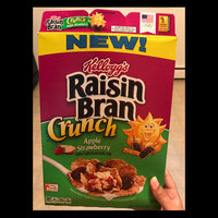 Kellogg's® Raisin Bran Crunch® Apple Strawberry Cereal 14.5 oz. Box uploaded by Sneha T.