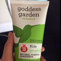 Goddess Garden Sunny Kid's Natural Sunscreen SPF 30 uploaded by Brittney S.
