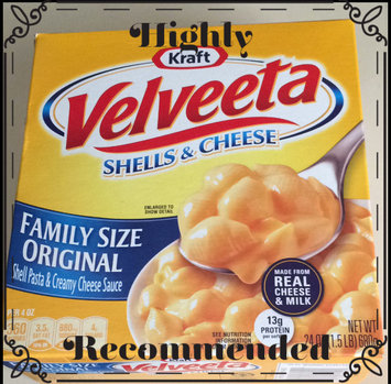 Velveeta Shells & Cheese Family Size Dinner Original uploaded by Lizette R.