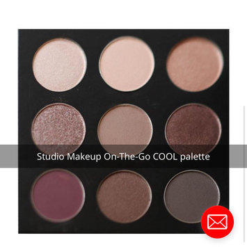 StudioMakeup On-The-Go Eyeshadow Palette Cool Down uploaded by Rachael M.