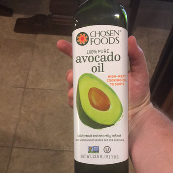 Photo of Chosen Foods 100% Avocado Cooking Oil, 1L Bottle (33.8fl) uploaded by Josh S.